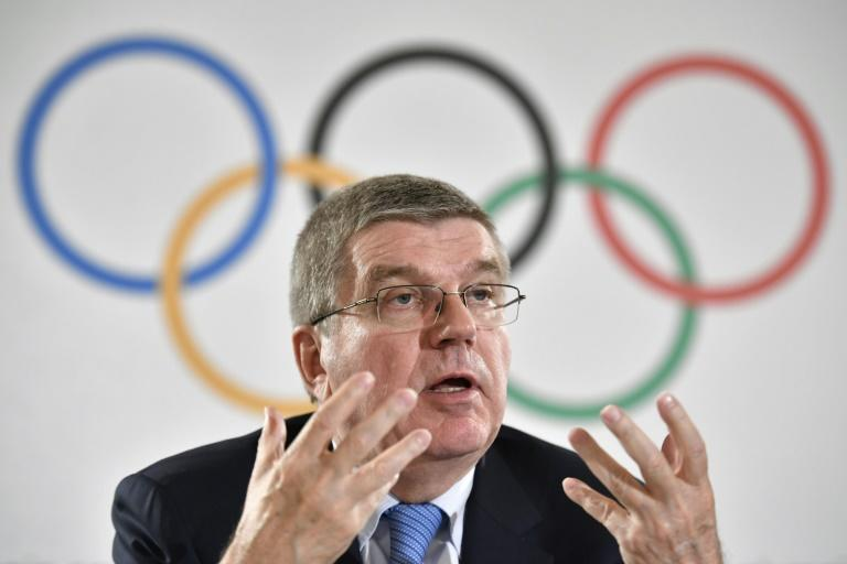 International Olympic Committee (IOC) President Thomas Bach gives a press conference in Lausanne, in December 2016