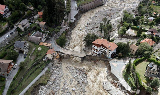 Seven bodies found and more feared dead as floods hit France and Italy