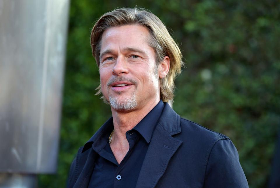 """Brad Pitt attends the """"Ad Astra"""" premiere at the Cinerama Dome on Sept. 18 in L.A. (Photo: Amy Sussman/Getty Images)"""