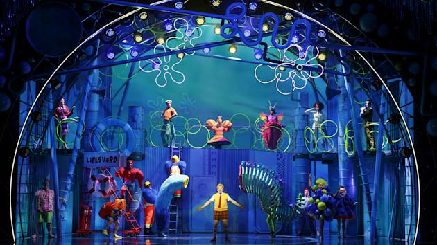Bikini Bottom Hits Broadway Later This Year When SpongeBob SquarePants The Stage Musical That Premiered In Chicago 2016 As