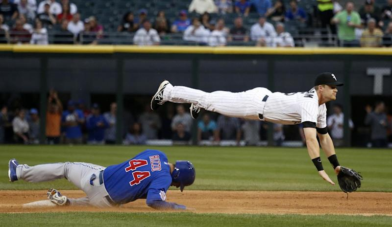 Cubs end skid with 12-5 victory over White Sox