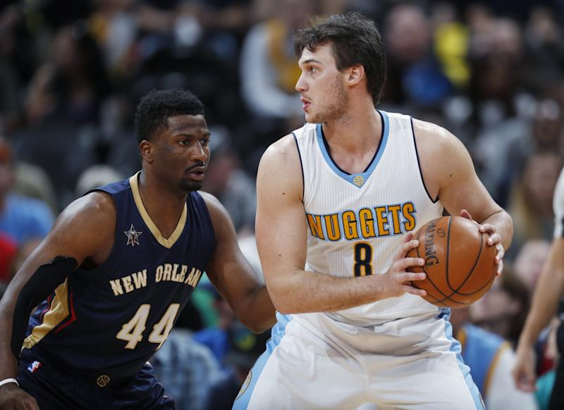Danilo Gallinari is injury-prone but coming off his best season. (AP)