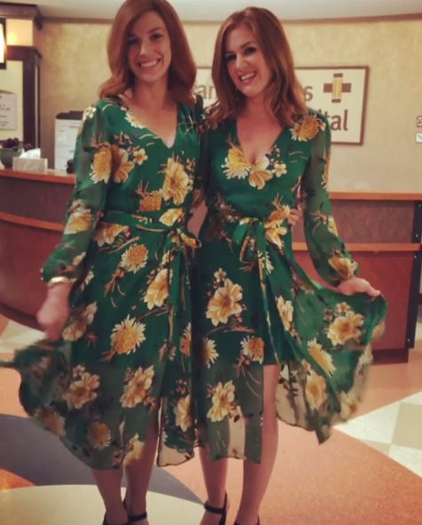 "<p>You're not seeing double — that's just the <em>Tag</em> movie star ""twinning"" with her stunt double. (Photo: <a href=""https://www.instagram.com/p/BXVB6KyANor/?hl=en&taken-by=islafisher"" rel=""nofollow noopener"" target=""_blank"" data-ylk=""slk:Isla Fisher via Instagram"" class=""link rapid-noclick-resp"">Isla Fisher via Instagram</a>)<br><br></p>"