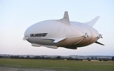 Airlander 10 - Credit: Joe Giddens/PA