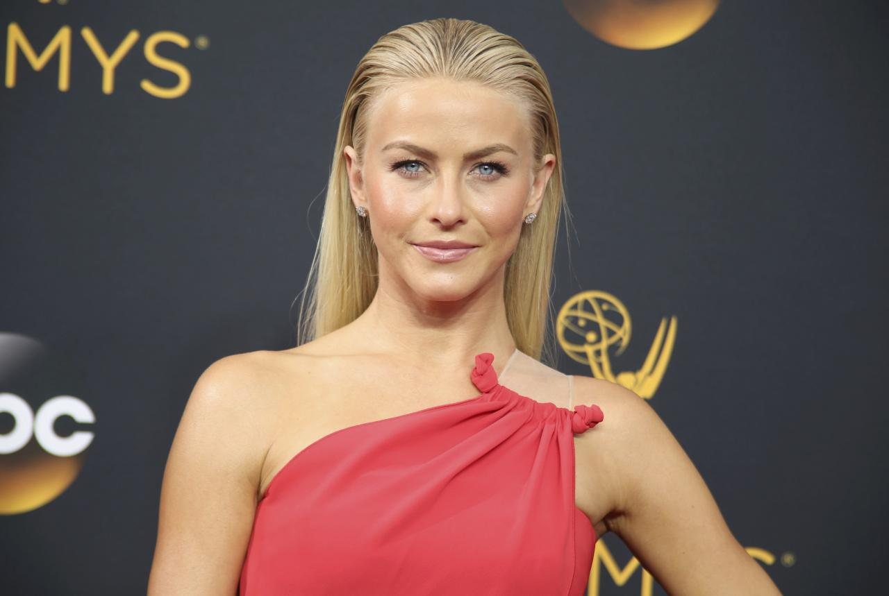 "Dancer Julianne Hough from ABC's ""Dancing with the Stars"" arrives at the 68th Primetime Emmy Awards in Los Angeles, California U.S., September 18, 2016.  REUTERS/Lucy Nicholson"