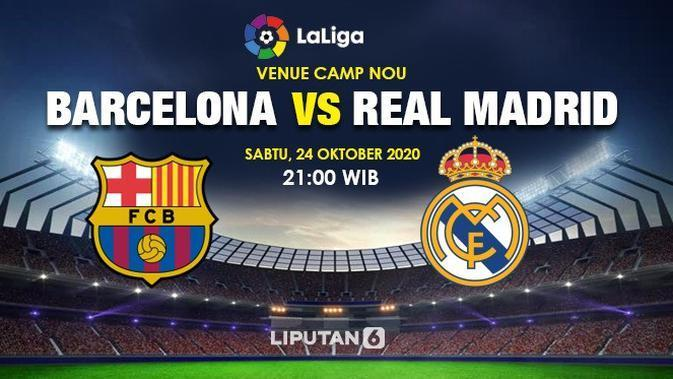 Head to Head Barcelona vs Real Madrid: Siapa Unggul di El Clasico?