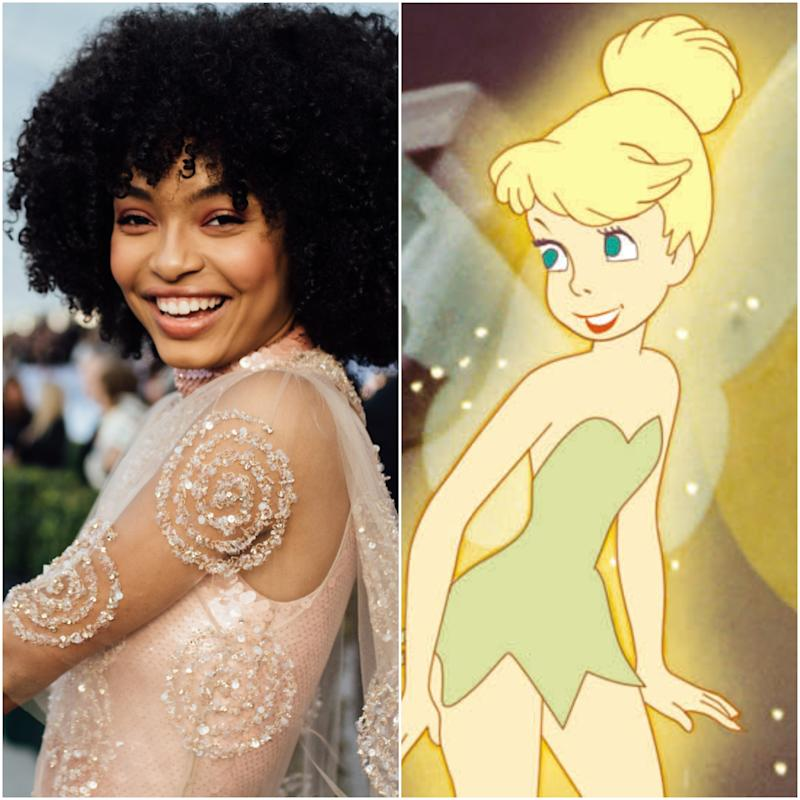 Yara Shahidi Will Play Tinker Bell in a Live-Action Peter Pan —and There's Already Fan Art