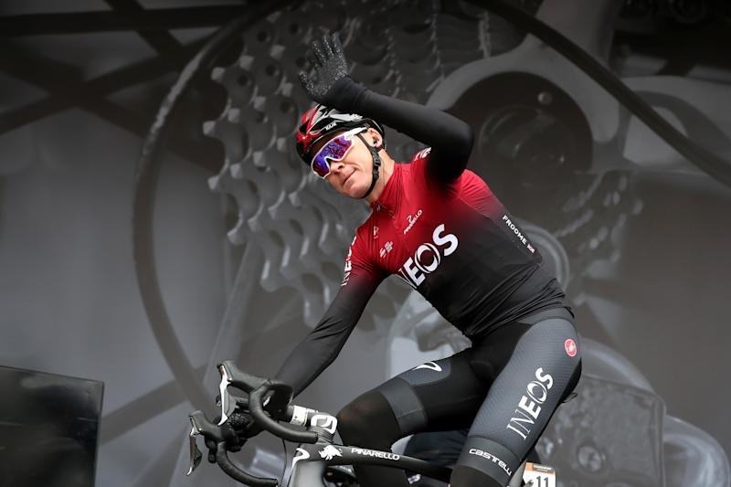 Geraint Thomas suffers heavy crash in Tour de Suisse race
