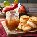 "<p><strong>Recipe: </strong><a href=""https://www.southernliving.com/recipes/slow-cooker-apple-butter"" rel=""nofollow noopener"" target=""_blank"" data-ylk=""slk:Slow-Cooker Apple Butter"" class=""link rapid-noclick-resp""><strong>Slow-Cooker Apple Butter</strong></a></p> <p>Our readers can't get enough of fresh apples in the fall, and they couldn't stop raving about this homemade apple butter recipe. From breakfast to dessert, they found plenty of creative ways to use it. Bonus: It will make your house smell amazing.</p>"
