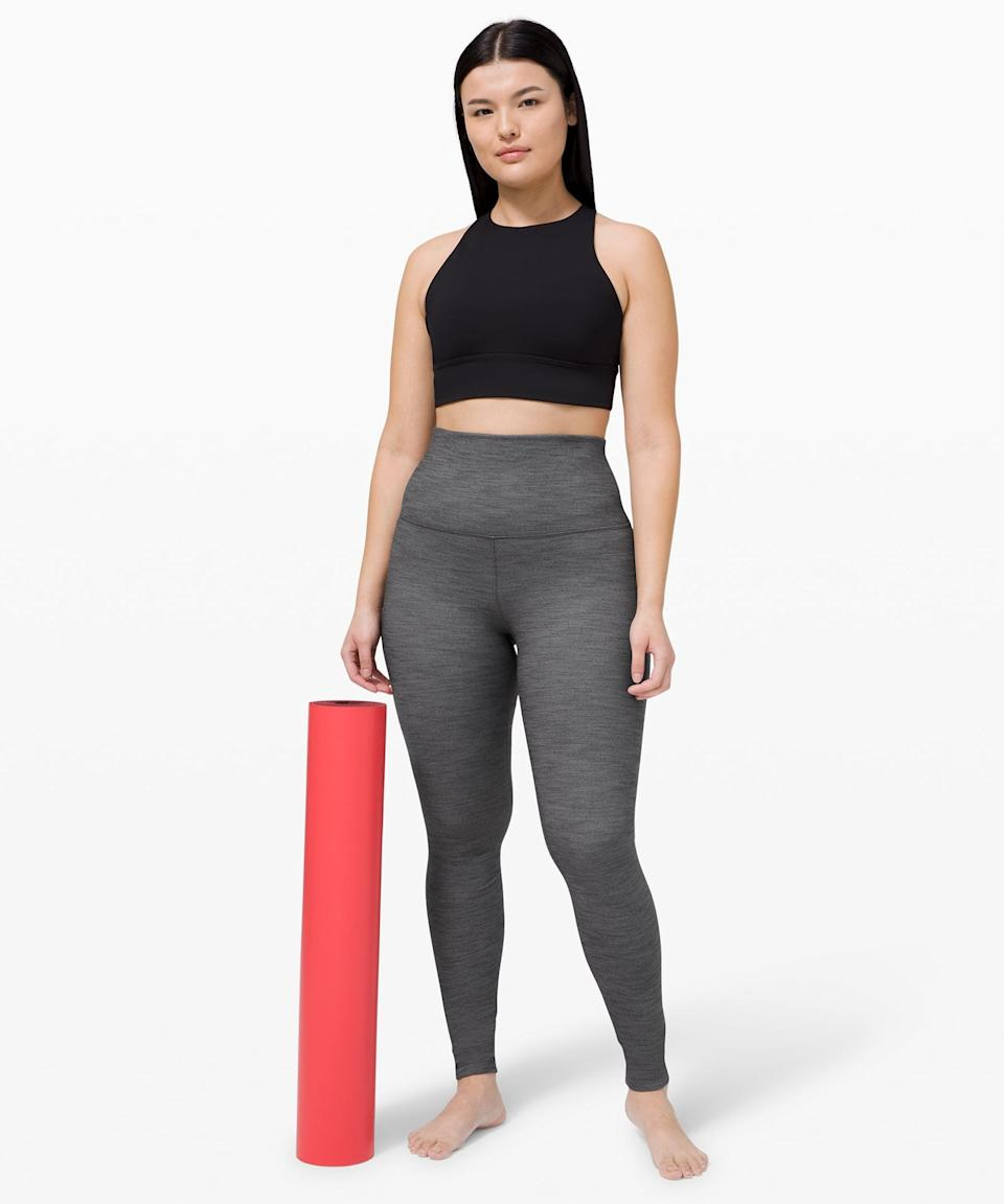 "<p>If you're in love with your high-rise leggings, you've got to try these <span>Lululemon Align Pant Super High-Rise 28""</span> ($79, originally $98) leggings.</p>"
