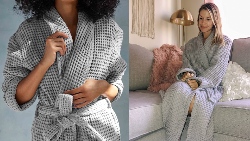 Best gifts for mom 2020: Brooklinen Waffle Robe