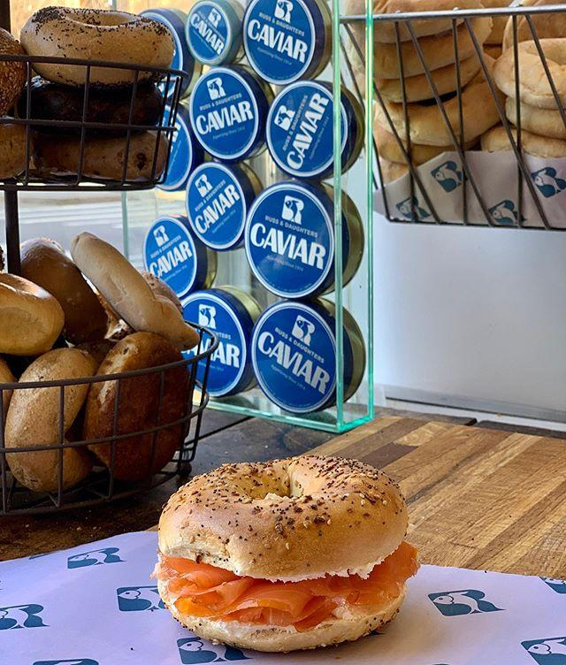 "<p>""As soon as Russ and Daughters begins their Brooklyn deliveries, I'll be ready. Bring on the white fish!""- <em>Howie Kahn, T&C Contributor.</em> The longstanding king of bagels and lox currently offers takeout, delivery, and nationwide shipping. <em></em></p><p><em>179 E Houston St, (212) 475-4880 ext. 1</em></p><p><a class=""body-btn-link"" href=""https://www.russanddaughterscafe.com/"" target=""_blank"">Order Now</a></p><p><a href=""https://www.instagram.com/p/B9ZHEa-JOpZ/?utm_source=ig_embed&utm_campaign=loading"">See the original post on Instagram</a></p>"