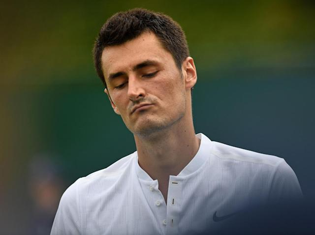 Bad boy Tomic (Getty )