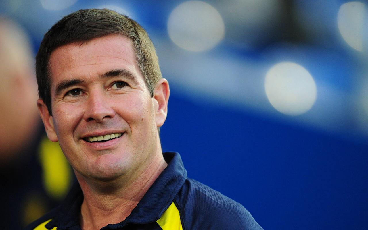 """Nigel Clough is reflecting on the 11 years of progress at Burton Albion since their last visit to Manchester United, when the subject of his 2006 squad comes up. """"We were part-time and the players were doing all sorts. Our captain was, and still is, a builder, we had electricians, fitness workers and a driving instructor. I hope we've improved since then!"""" Burton undoubtedly have, and the fact they are now a Championship club only underlines the remarkable transformation that Clough, and chairman Ben Robinson, have seen over the last decade. Burton Albion players visit Old Trafford ahead of their replay in 2006 Credit: Getty Images The Brewers will face Jose Mourinho in the Carabao Cup on Wednesday night as a Championship club after completing their own fairytale by avoiding relegation with a game to spare last season. But the memories of the FA Cup meeting with Sir Alex Ferguson's United are still vivid for Clough, with his squad of waifs and strays facing the likes of Cristiano Ronaldo and Wayne Rooney at his peak. Burton were 100 places behind United on that January afternoon, operating as a Conference club, but their climb up the football pyramid has been one of the most uplifting stories from the lower leagues in recent times. They even took United to a replay, after holding them to a 0-0 draw at the Pirelli Stadium, to rake in around £800,000 and kick-start Burton's makeover. The 5-0 defeat in the rematch barely registers nowadays. """"We've been debt-free ever since that replay at Old Trafford,"""" said Clough. """"Our chairman was in tears after the game because he knew at the time what it meant for the club going forward. It was just a massive amount of money for a non-league club. Manchester United's Giuseppe Rossi scores in the 5-0 return at Old Trafford Credit: AP """"He was pleased we didn't win the first game. I think he has seen [former referee] Howard Webb a few times and Howard says we nearly got a penalty when Gerard Pique handled it. """"Howard says 'I think it """