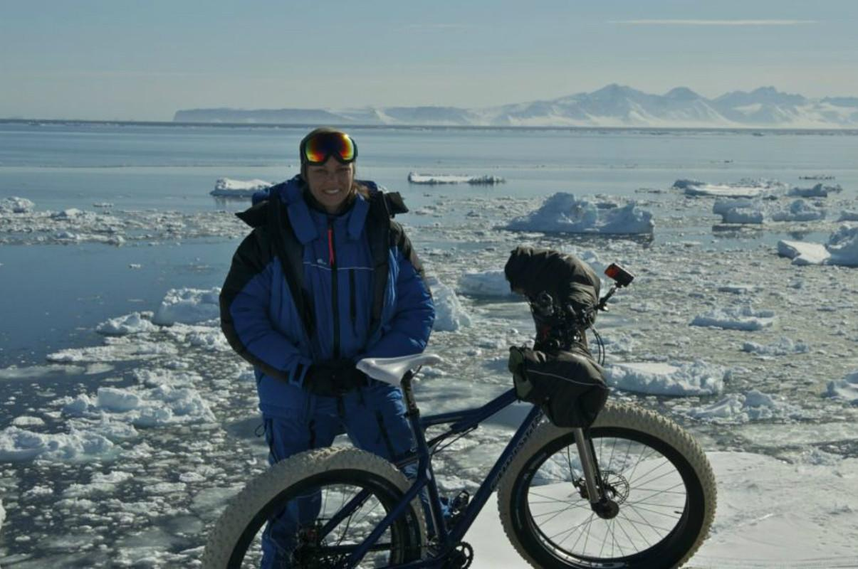Christini Technologies answered the call when Dr. Kate Leeming asked for an all-wheel-drive bike for her expedition across Antarctica. A Kickstarter campaign helps fund the trip and gives fat bike enthusiasts an AWD fat bike of their own.