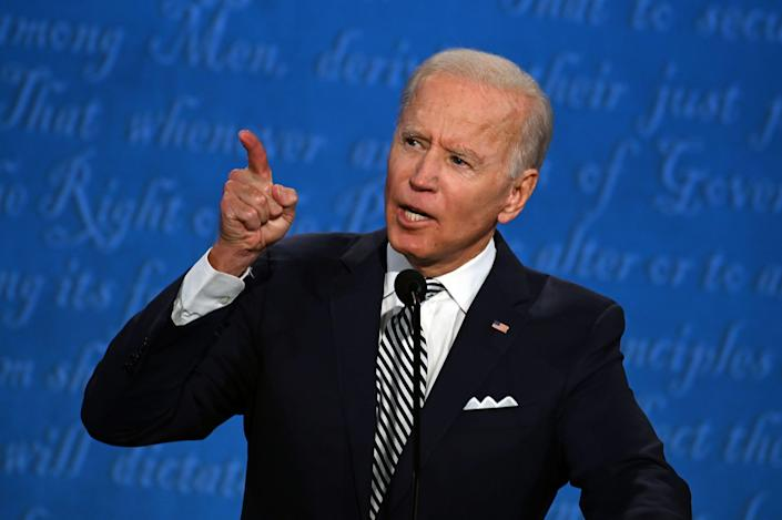 Tragedy in the early stages of Joe Biden's career has influenced the way he conducts himself. (Getty)
