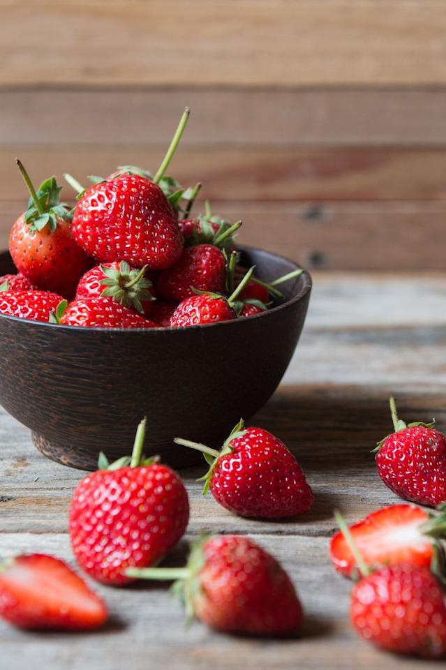"<p>Summer is the perfect time to <a rel=""nofollow"" href=""https://www.womansday.com/food-recipes/food-drinks/g2470/fruit-salad-recipe/"">stock up on strawberries</a>  -  and it's especially good for your waistline. In a study from <a rel=""nofollow"" href=""https://www.bmj.com/content/352/bmj.i17"">Harvard Medical School</a>, researchers found an increased intake of flavonoid-rich fruits  -  this one, included!  -  could help prevent weight gain.</p>"