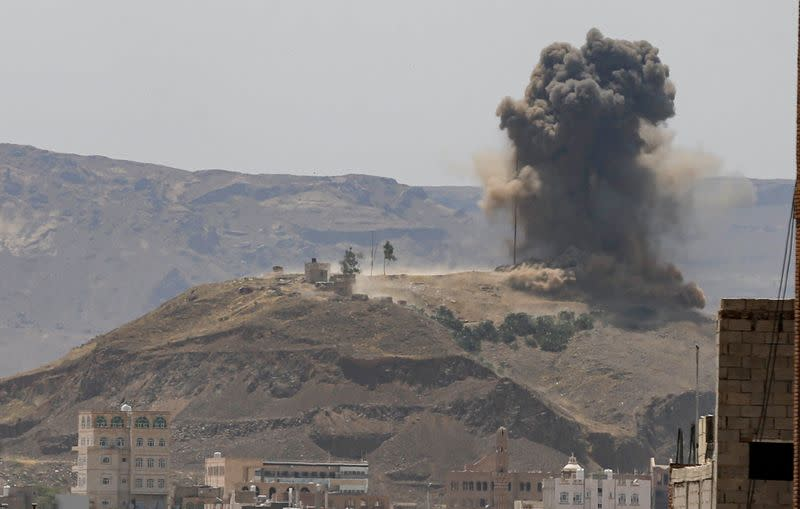 Possible war crimes in Yemen fuelled by arms flows from West, Iran, U.N. says
