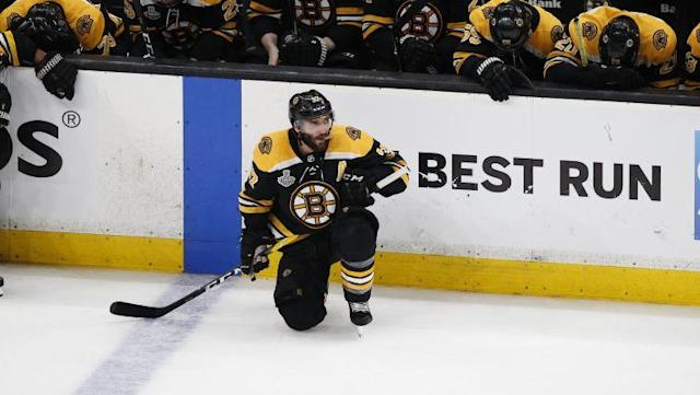 Patrice Bergeron didn't quite look like his normal self in the 2019 Stanley Cup Final, and we learned one possible explanation as to why following the Boston Bruins' Game 7 loss to the St. Louis Blues.