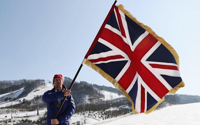 Billy Morgan was a popular choice as Team GB's flag-bearer at the closing ceremony - Getty Images AsiaPac