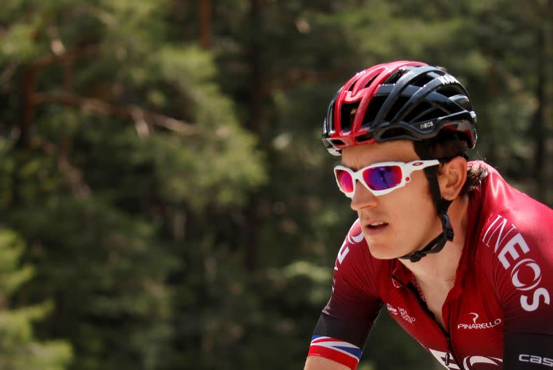Ineos-Grenadiers' Thomas out of Giro with fractured pelvis