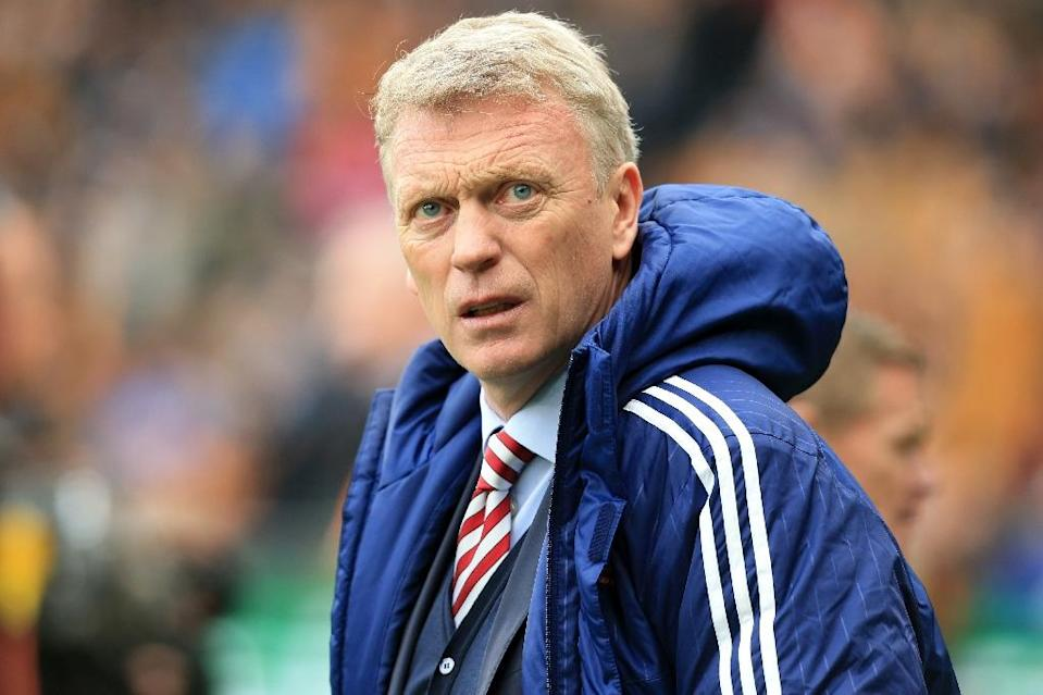Sunderland were relegated from the Premier League under David Moyes in 2017 (AFP Photo/Lindsey PARNABY)