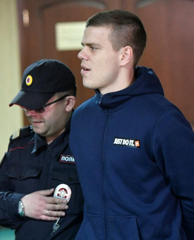 Kokorin was jailed for 11 months for hooligaism after a drunken night of violence with fellow Russian international Pavel Mamaev (AFP Photo/Alexander NEMENOV)