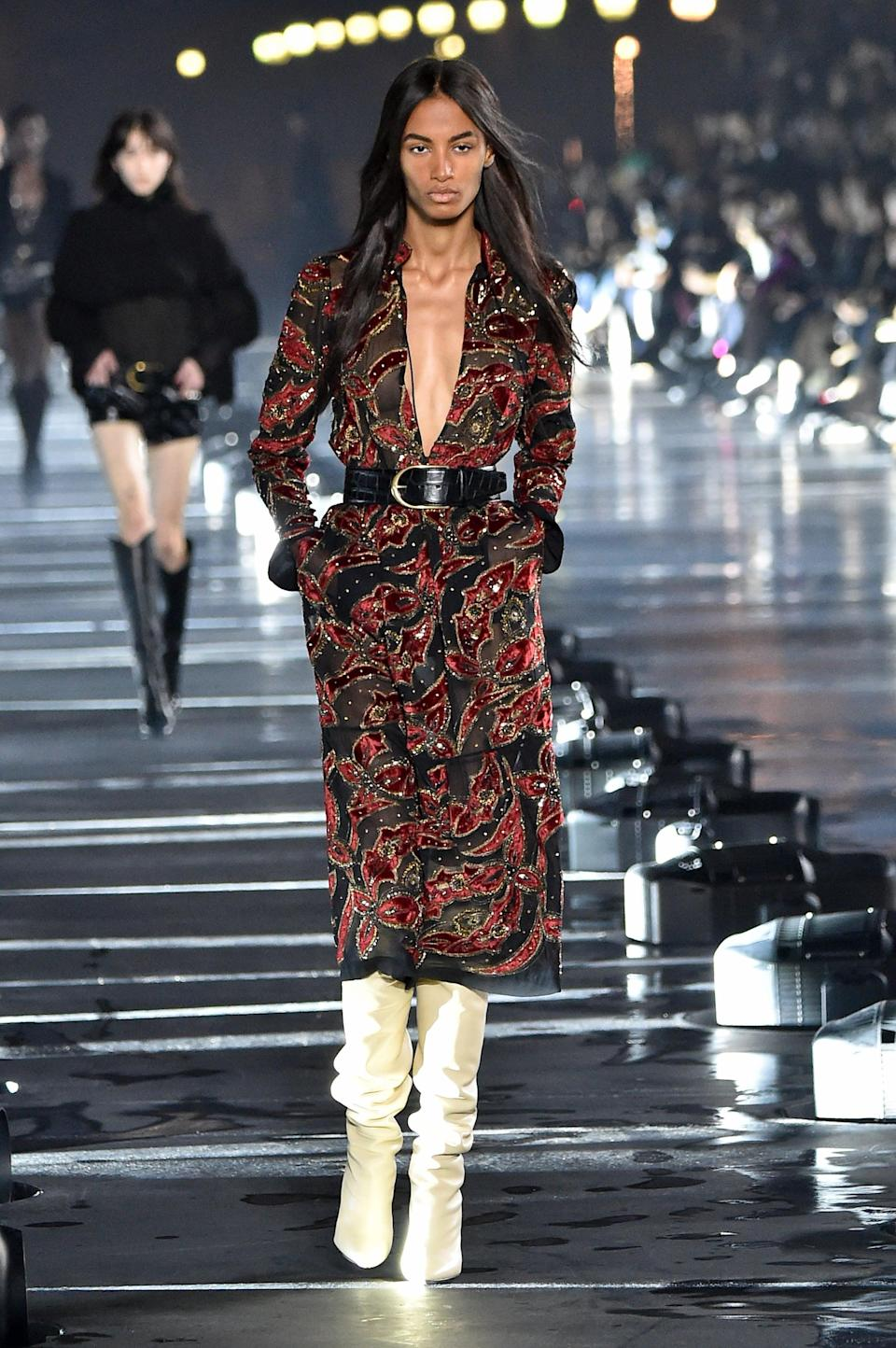 <p>Londoner Sacha Quenby has been one of the most recognizable faces, walking for big names including JW Anderson, Givenchy, and Chloé.</p>