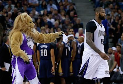 DeMarcus Cousins remains with the Kings, for now. (Getty Images)