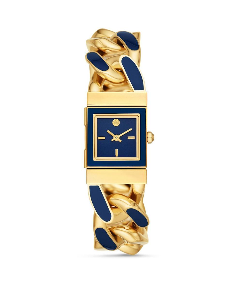 "<p><strong>Tory Burch</strong></p><p>bloomingdales.com</p><p><strong>$395.00</strong></p><p><a href=""https://go.redirectingat.com?id=74968X1596630&url=https%3A%2F%2Fwww.bloomingdales.com%2Fshop%2Fproduct%2Ftory-burch-tilda-watch-21mm-x-21mm%3FID%3D3737502&sref=https%3A%2F%2Fwww.marieclaire.com%2Ffashion%2Fnews%2Fg3961%2Fbest-watches-for-women%2F"" rel=""nofollow noopener"" target=""_blank"" data-ylk=""slk:SHOP IT"" class=""link rapid-noclick-resp"">SHOP IT</a></p><p>Pair this two-toned Tory Burch watch with a stack of bangles for a serious jewelry moment. </p><p><em>For more stories like this, including celebrity news, beauty and fashion advice, savvy political commentary, and fascinating features, sign up for the </em>Marie Claire<em> newsletter (</em><a href=""https://link.marieclaire.com/join/3oa/mar-newsletter?authId=F0CC0C27-80DA-4734-ABDF-E4115B84A56B&maj=WNL&min=ARTICLES"" rel=""nofollow noopener"" target=""_blank"" data-ylk=""slk:subscribe here"" class=""link rapid-noclick-resp"">subscribe here</a>).</p>"
