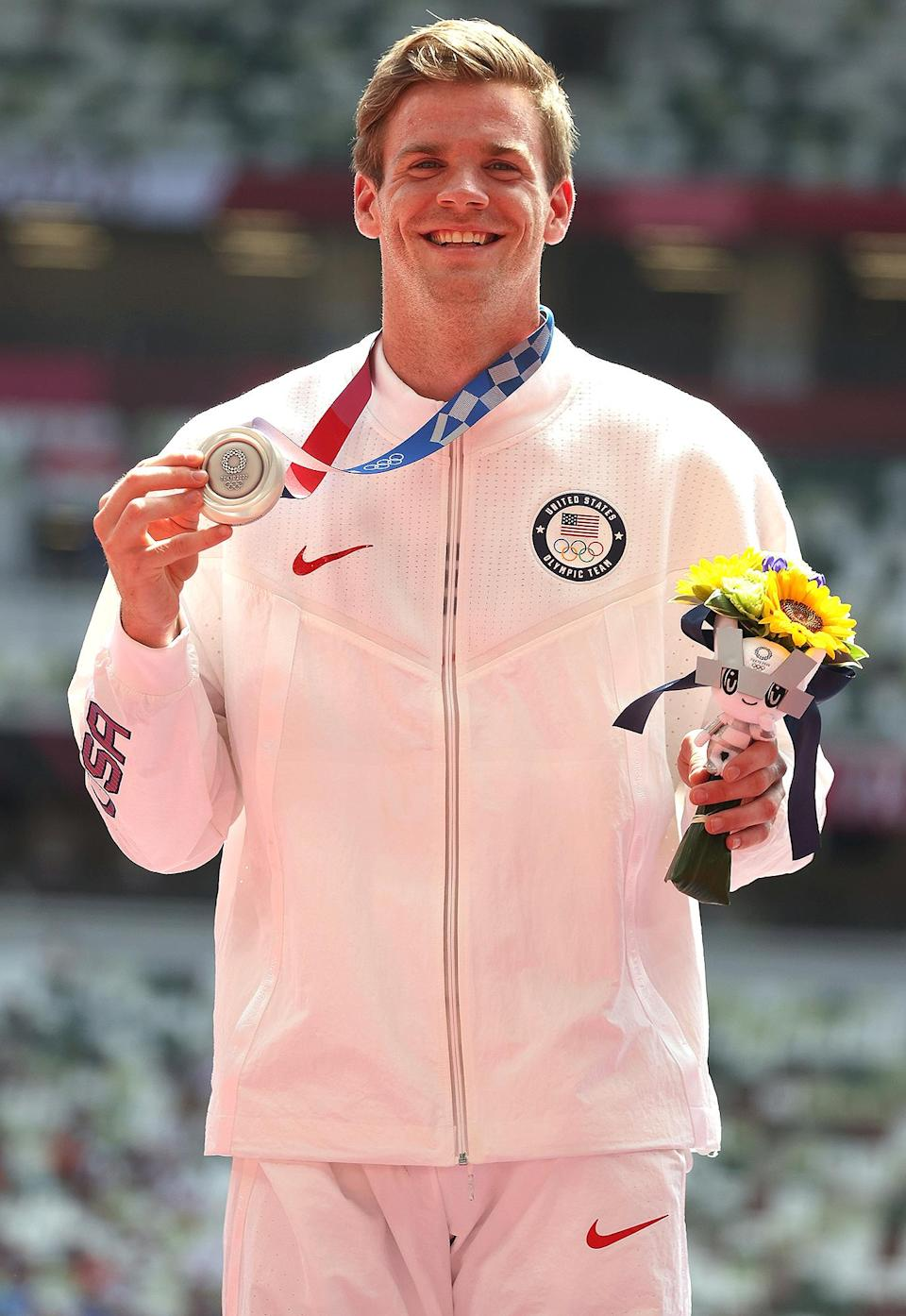 """<p>Biography: 23 years old</p> <p>Event: Men's pole vault</p> <p>Quote: """"I had a couple of good jumps at 6 meters, and I was happy to walk away with that.""""</p>"""
