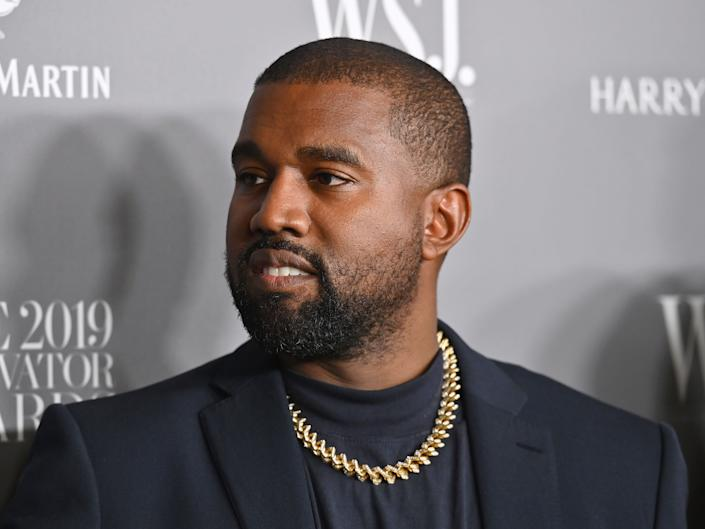 The rapper is running for presidentAFP via Getty Images