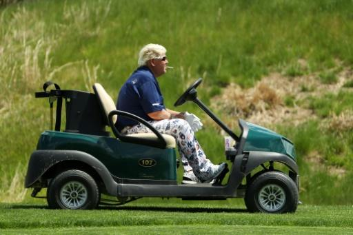 John Daly became the first golfer since 2012 to use a cart in a major tournament in Thursday's opening round of the PGA Championship at Bethpage Black