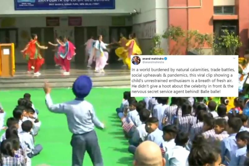 Anand Mahindra Impressed by Boy's Impromptu Dance During Melania Trump's Visit to Delhi School