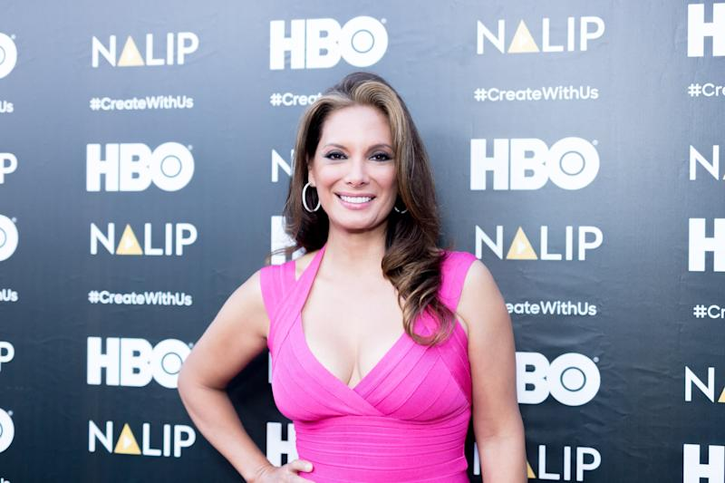 HOLLYWOOD, CALIFORNIA - JUNE 24: Actress Alex Meneses arrives for the NALIP 2017 Latino Media Awards at The Ray Dolby Ballroom at Hollywood & Highland Center on June 24, 2017 in Hollywood, California. (Photo by Greg Doherty/WireImage)