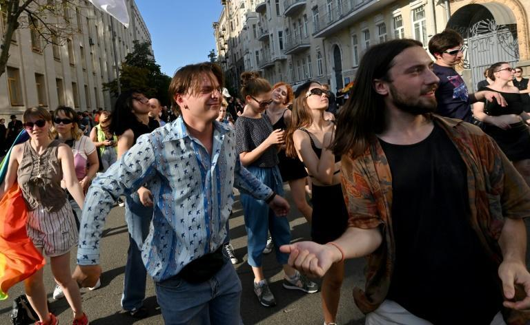 'Our protest will be loud and noticeable,' said organisers of Friday's LGBTQ rave in Kiev