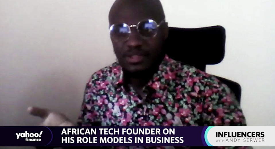"""Mubarak Muyika, founder of the enterprise software company Zagace, speaks with Yahoo Finance Editor-in-Chief Andy Sewer on an episode of """"Influencers with Andy Serwer."""""""