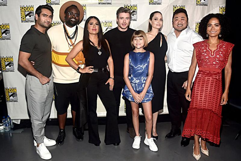 Cast of The Eternals, July 2019 | Alberto E. Rodriguez/Getty