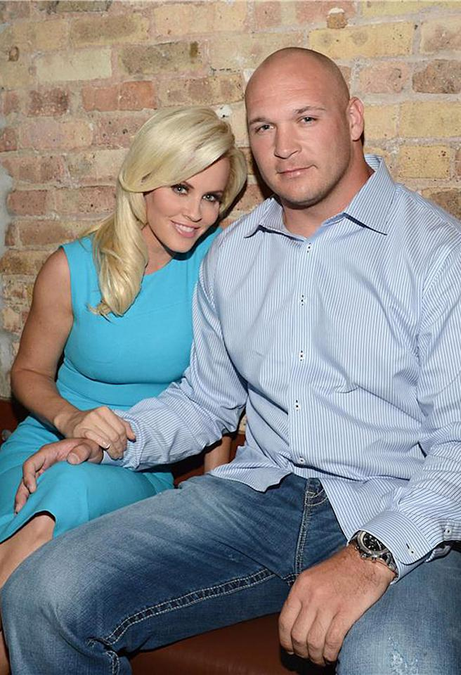Exclusive/Call for Pricing-Chicago, IL - 05/24/2012 - Jenny McCarthy, with her boyfriend NFL Star Brian Urlacher of the Chicago Bears, attends her 5th Annual RESCUE OUR ANGELS Cocktail Party and Auction to benefit her foundation Generation Rescue which provides help and hope for families around the world. The event raised over 100,000 dollars