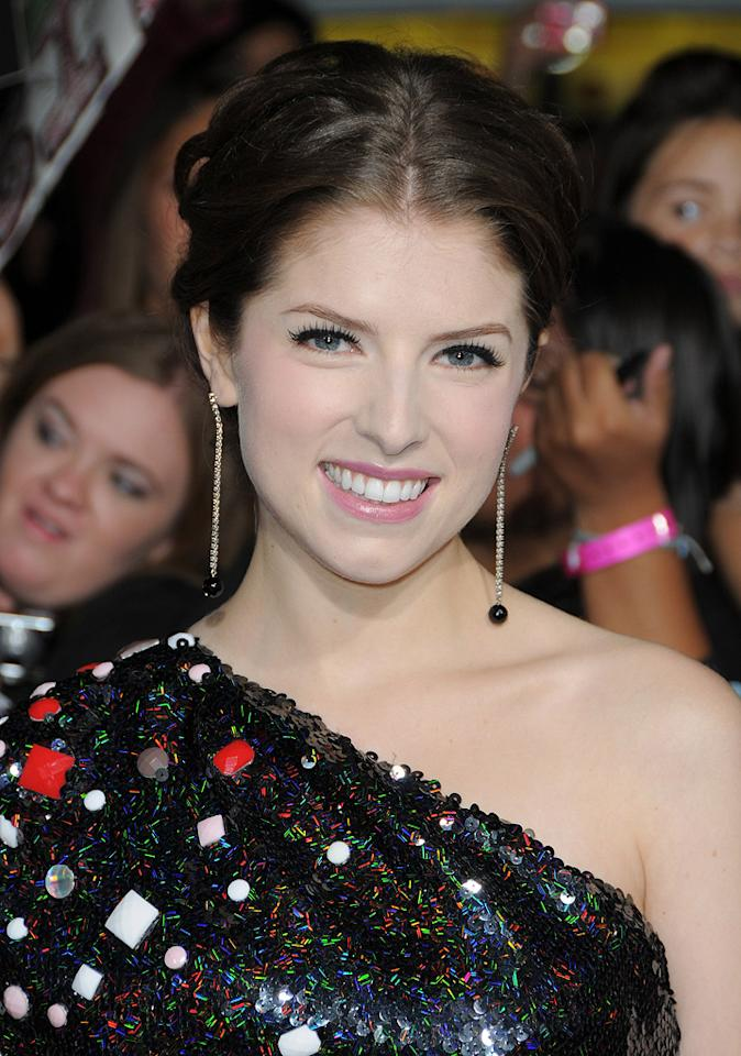 "<a href=""http://movies.yahoo.com/movie/contributor/1808458984"">Anna Kendrick</a> at the Los Angeles premiere of <a href=""http://movies.yahoo.com/movie/1810055802/info"">The Twilight Saga: New Moon</a> - 11/16/2009"