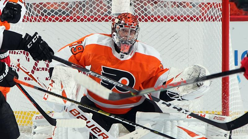 Flyers goalie Carter Hart: 'It sucks that we're not playing hockey right now'
