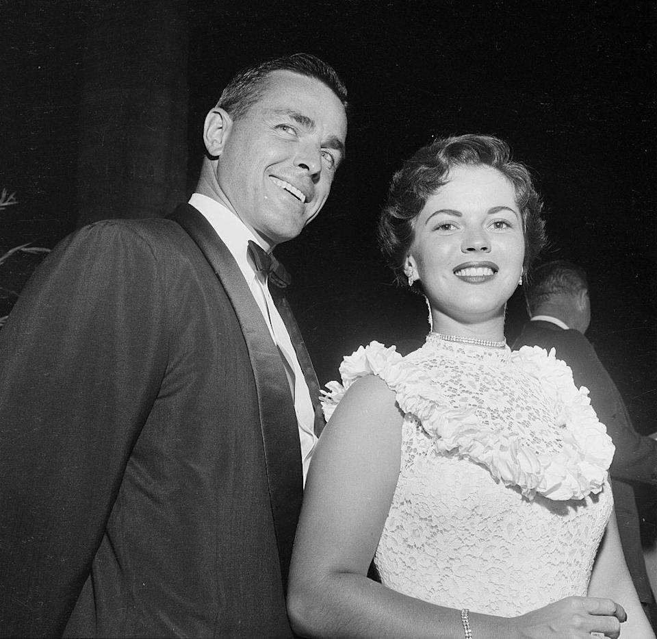 <p>A year after her divorce, Shirley walked down the aisle once again. This time to California businessman Charles Alden Black. The star took his last name, changing hers to Shirley Temple Black, and decided to retire from the movie industry at 22 years old. Her last film, <em>A Kiss for Corlis</em>s, came out in 1949.</p>