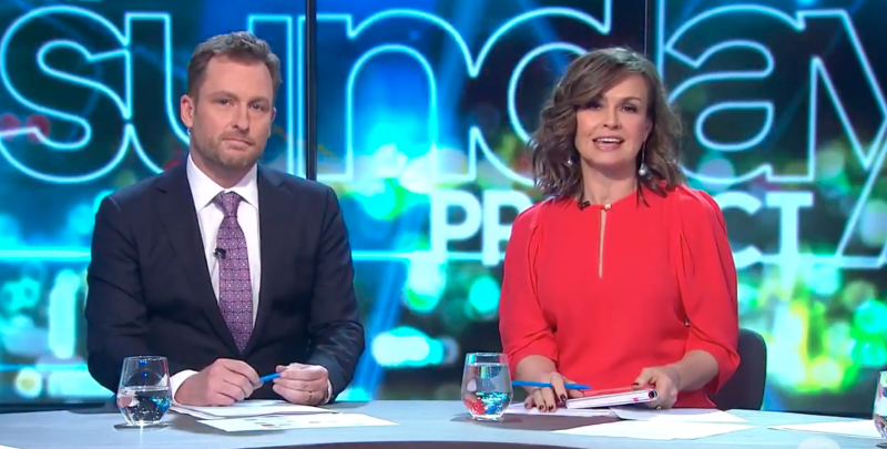 Lisa Wilkinson on The Project panel