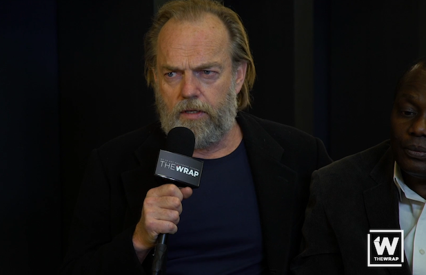 Hugo Weaving Studied PTSD to Play War Photographer in 'Hearts and Bones' (Exclusive Video)