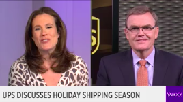 UPS CEO David Abney discusses the company's upcoming high-volume holiday season