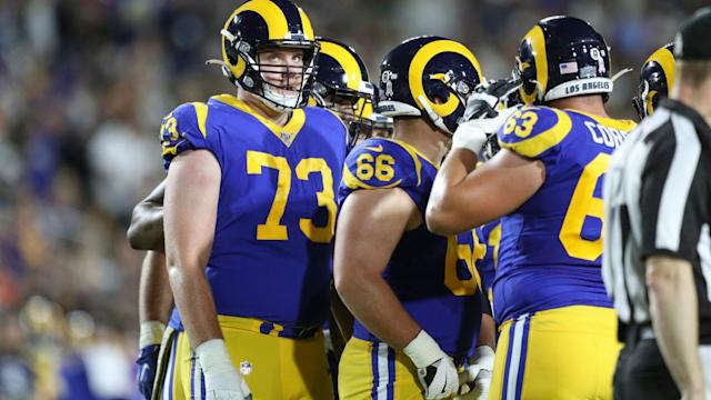 This stat shows how great Rams' offensive line was vs. Bears
