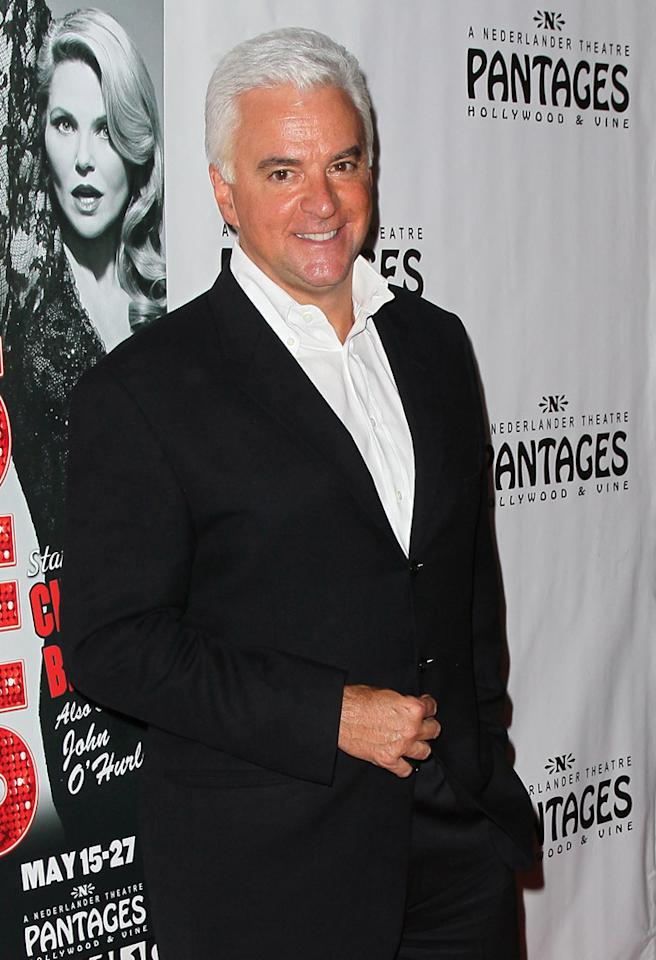 "HOLLYWOOD, CA - MAY 16:  Actor John O'Hurley attends the opening night of ""Chicago"" at the Pantages Theatre on May 16, 2012 in Hollywood, California.  (Photo by David Livingston/Getty Images)"
