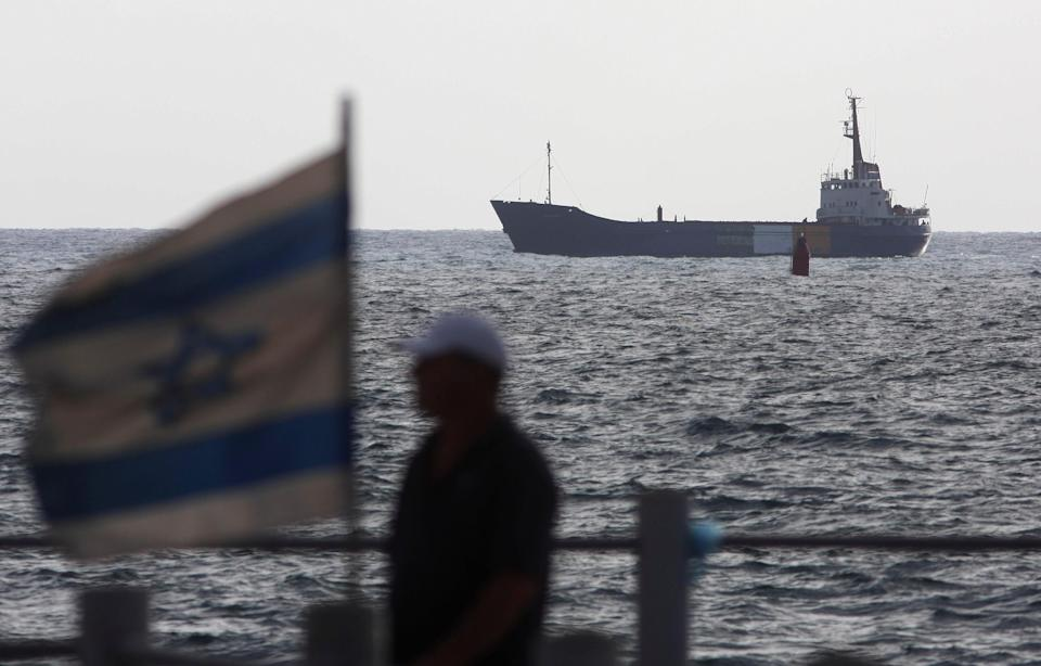 Concerns have mounted over attacks targeting Israeli-owned ships in the Gulf waters (AP)