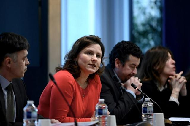 French Sports Minister Roxana Maracineanu raises notion of Tour de France spectator ban (AFP Photo/Philippe LOPEZ)