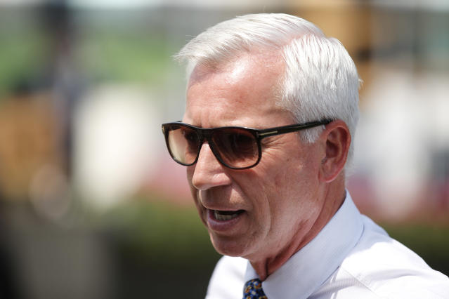 Britain Horse Racing - Royal Ascot - Ascot Racecourse - June 21, 2017 Football manager Alan Pardew before the races Action Images via Reuters / Matthew Childs Livepic